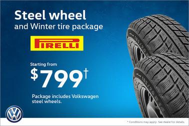 Save on Steel Wheel!