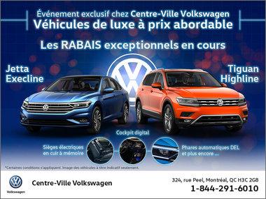 Événement exclusif chez Centre-Ville Volkswagen