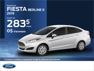 Ford Fiesta Berline 2019