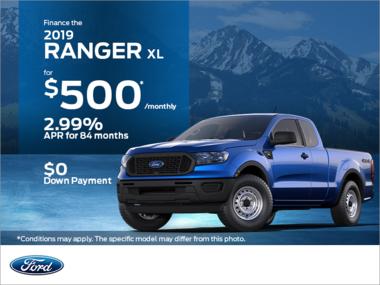 2019 Ford Ranger!