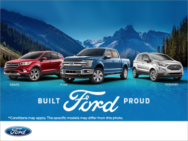 Built Proud Ford Event !