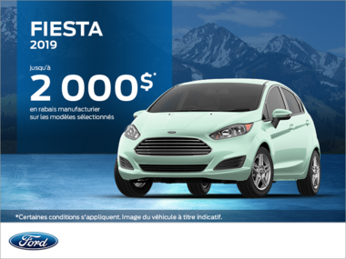 Ford Fiesta Berline 2019!