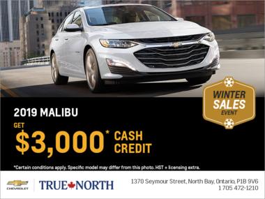 Get the 2019 Chevrolet Malibu