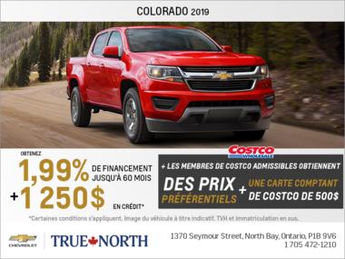 Obtenez le Chevrolet Colorado 2019