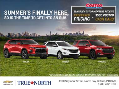 Get into an SUV this Summer & Receive a $500 Costco Cash Card!