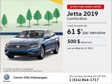 Louez la Jetta 2019!