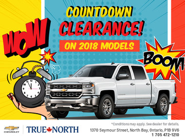 Countdown Clearance!