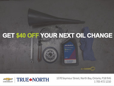 $40 Off on your next oil change!