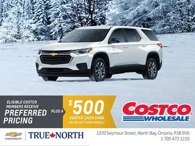 Costco Members Receive Preferred Pricing + $500 Costco Cash Card!