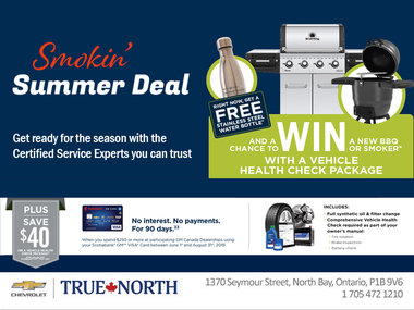 Certified Service Smokin' Summer Deal