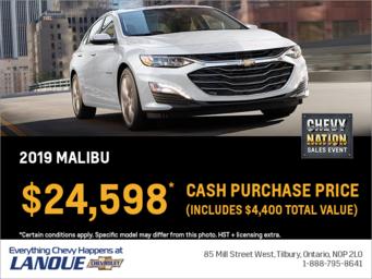 Finance the 2019 Chevrolet Malibu