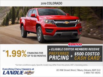 Get the 2019 Chevrolet Colorado
