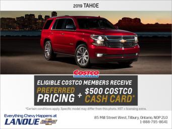 Get the 2019 Chevrolet Tahoe