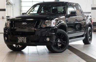 2010 Ford Explorer Sport Trac Adrenalin 4D Utility 4WD