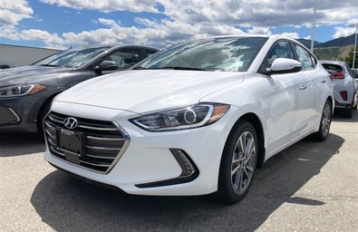 2018 Hyundai Elantra Sedan Limited