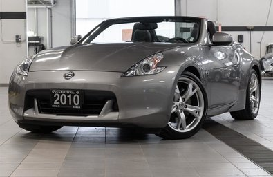 2010 Nissan 370Z Touring Roadster Black Top at