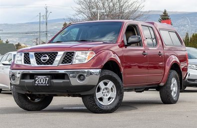 2007 Nissan Frontier Crew Cab SE 4x4 at