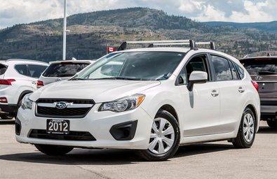 2012 Subaru Impreza 4Dr 2.0i 5sp