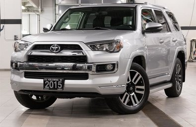 2015 Toyota 4Runner Limited w/ 7 Passenger Seating