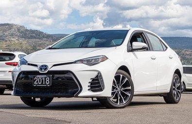 2018 Toyota Corolla 4-door Sedan SE CVTi-S