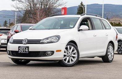 2014 Volkswagen Golf wagon 2.0 TDI Highline DSG at w/ Tip