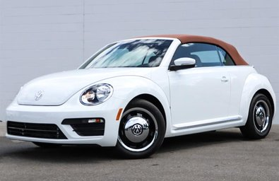 2017 Volkswagen The Beetle Convertible Classic 1.8T 6sp at w/Tip