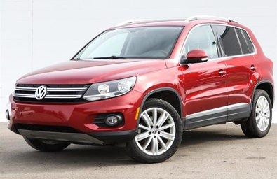 2013 Volkswagen Tiguan Trendline 6sp at Tip