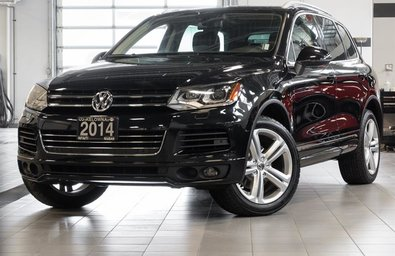 2014 Volkswagen Touareg Execline w/ R Line Package