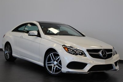 2016 Mercedes-Benz E400 4MATIC Coupe