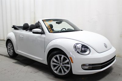 2015 Volkswagen The Beetle Convertible Trendline plus 1.8T 6sp at w/Tip