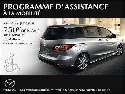 Le programme d'assistance à la mobilité Mazda