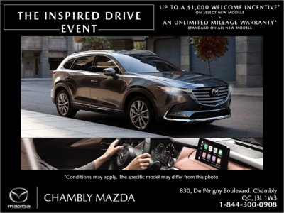 The Inspired Drive Event