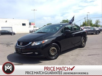 2014 Honda Civic Touring  Navi  Leather   Moonroof