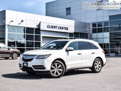 2014 Acura MDX Elite Pkg NAVI DVD LOADED