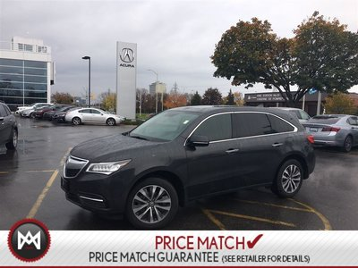Acura MDX TECH. PKG. NAVIGATION ROOF LEATHER 2015
