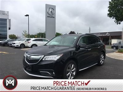 pre owned 2016 acura mdx awd elite navigation large dvd in ottawa