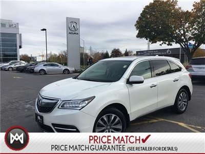 Acura MDX AWD TECHNOLOGY PACKAGE 2016