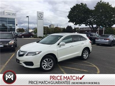 2016 Acura RDX LEATHER TECHNOLOGY PACKAGE