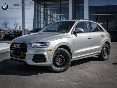 Audi Q3 AWD, LOW KMS, KOMFORT 2016