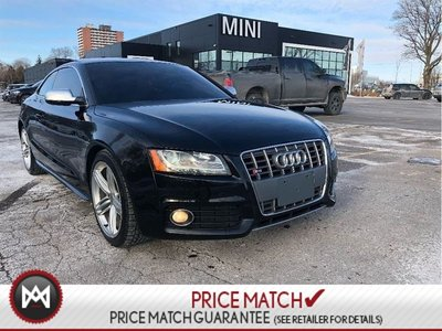 Audi S5 V8 QUATTRO NEW TIRES/BRAKES RED LEATHER 2010