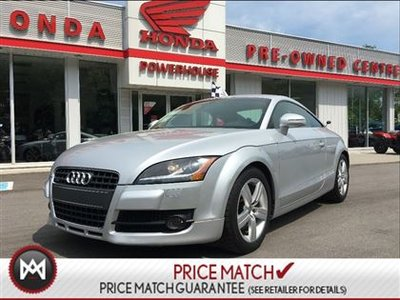 2009 Audi TT COUPE! HATCHBACK! CRUISE! SPORTY! A/C! COMFY FUN!!