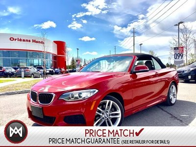 2016 BMW 228i Xdrive -Loaded Convertible One Owner