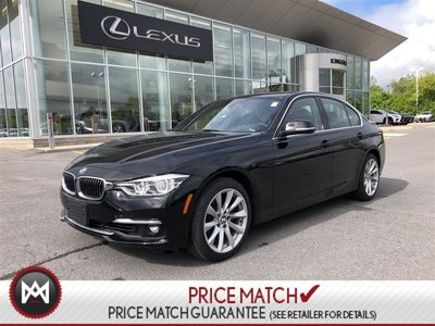 2017 BMW 3 Series 330i AWD NAVI ROOF LEATHER