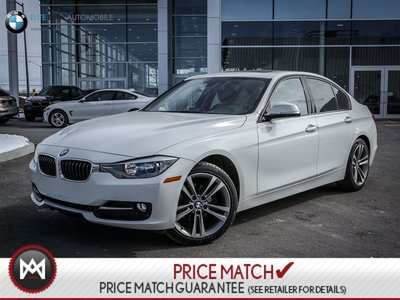 BMW 320i SPORT, AWD, SUNROOF 2014
