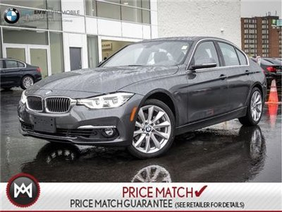 2017 BMW 330i NAVI ROOF LEATHER  *previous rental