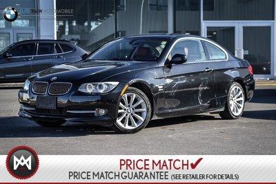 2012 BMW 335i MANUAL, AWD, 335