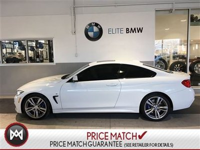 2014 BMW 435i M PACK, AWD, WHITE