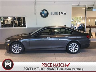 BMW 528i AWD, PREMIUM, SUNROOF 2013