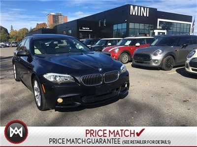 BMW 528i WHITE LEATHER NAVI M SPORT PACKAGE COMFORT 2013