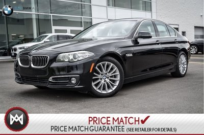 2015 BMW 528i AWD, PREMIUM, SUNROOF